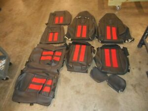 2011 2012 2013 2014 Ford Mustang Shelby Gt500 Recaro 13 14 12 Seat Covers Oem