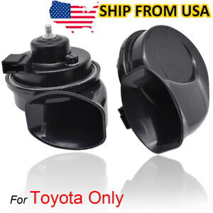 Snail Horn 410 510hz Dual Pitch Waterproof For Toyota Tacoma Mk2 Mk3 2005 2020