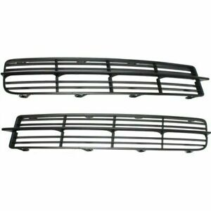 Dat Auto Parts Front Left Right Side Fog Light Cover Set Pair 2 Passenger Driver