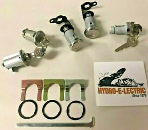 New 1960 Bel Air Impala Biscayne Complete Oe Style Lock Set Original Gm Keys