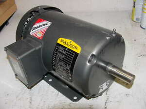 Baldor 1hp 3phase Motor 1140rpm Tefc 145t Frame Unused 1 Hp