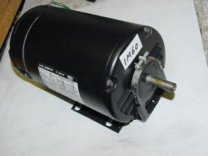 A O Smith 1hp 1 Phase Motor 3450rpm Odp 48 Frame Unused 1 Hp
