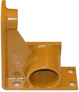 D35354 New Case Dozer R h Top Roller Stand Mounting Bracket 450 To S n 3050800