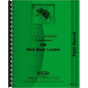 Owatonna 440 Skid Steer Parts Manual