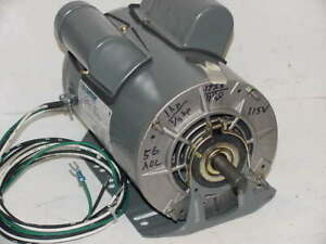 Marathon 1hp 2 Speed Capacitor Start 1725 1140rpm 115v Motor Fan swamp Cooler