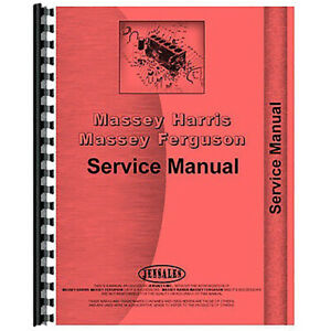 Service Manual For Massey Ferguson 800 Series Combine
