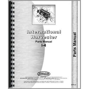 New International Harvester 3410 Sickle Mower Parts Manual