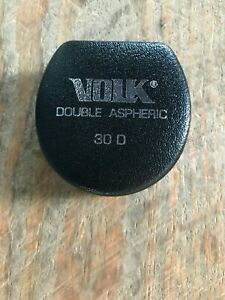 Volk 30d Double Aspheric Indirect Ophthalmoscopy Lens Fundus