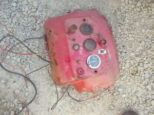 Massey Harris 30 Tractor Mh 30 Dash Panel W Switch Gauges