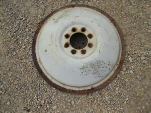 Ford 8n Tractor Rear Dish Wheel Center Holds Rim Tire To Tractor Hub