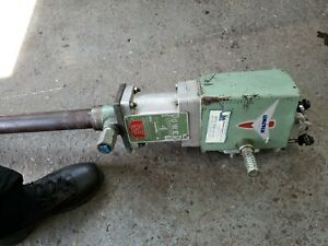 Used Lincoln Powermaster 4 82730 Airmotor W 82790 Pump Barrel Drum Oil Pump