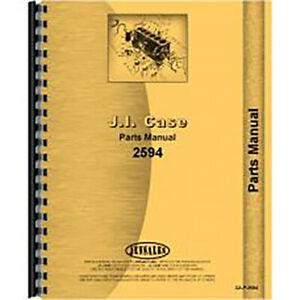 New Case 2594 Tractor Parts Manual