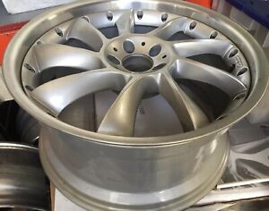 Lorinser Lm6 2 Pc 20 X 10 Et38 5 112 Silver Used Made In Germany One Wheel Only