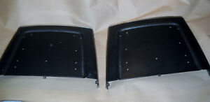 Thunderbird 1968 Bucket Seat Backs Black