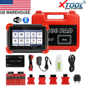 Us Ship Xtool X100 Pad Tablet Obd2 Scanner Programmer Odometer Correction Eeprom