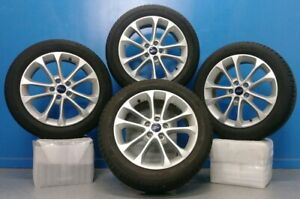 Set Of Four 4 17 Ford Fusion 19 20 10205 Wheels Tires Michelin 225 50r17