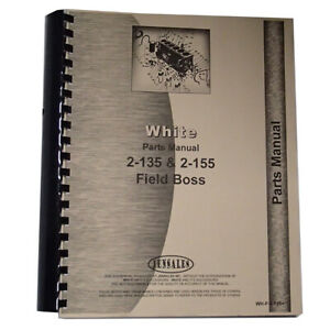 White 2 155 Tractor Parts Manual