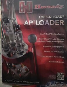 HORNADY LOCK-N-LOAD AP LOADER SYSTEM PROGRESSIVE PRESS NEW FACTORY SEALED 095100