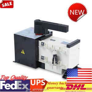 Dual Power Ats 100a 4p Automatic Changeover Transfer Switch Isolation Type Us