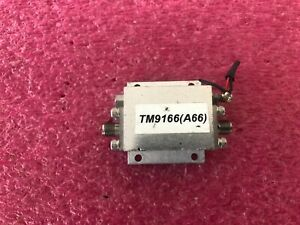 Rf Microwave Power Amplifier Unknow Model Sma 1