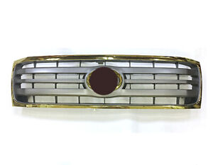For Toyota Land Cruiser 100 Front Bumper Radiator Grille Grill Gold 2006 2007