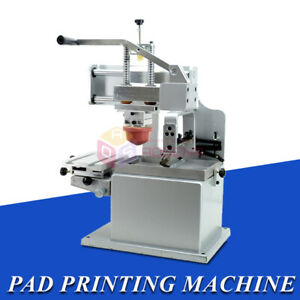 Manual Pad Printing Printer Press Machine Pen Ball Label Pvc Mug Diy Gift Logo