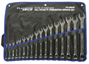 Sae Long Pattern Combination Wrench Set 17 Pc