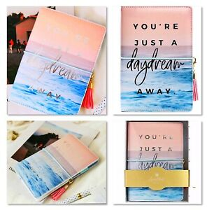 A6 Ring Binder Hardcover Personal Refillable Planner Tassel Pendant Gift Box
