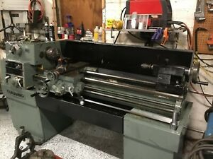 Lathe Clausing 15 X 50 Very Good Condition New Bearings Belt In Main Drive