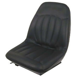 Black Suspension Seat For Bobcat Skid Steer S205 S220 S160 S175 S130 S150 S185
