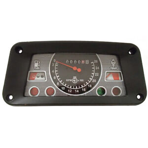 New Gauge Cluster Fits Ford New Holland Tractor 655a 6600 6610 6810 7600 7610