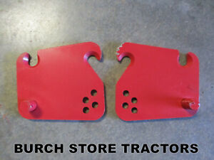 New Pair Of Drawbar Mounts For Farmall 140 130 Super A 100 Tractors Usa Made
