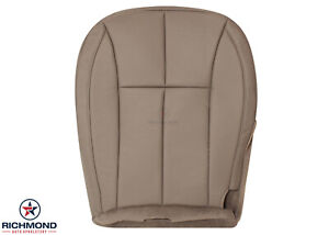 2002 2003 Jeep Grand Cherokee Limited driver Side Bottom Leather Seat Cover Tan