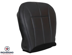 2002 Jeep Grand Cherokee Limited driver Side Bottom Leather Seat Cover Dark Gray