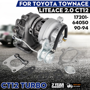 Set For Toyota Townace Liteace 2 0l Ct12 Turbo Charger 17201 64050 2 0l Us