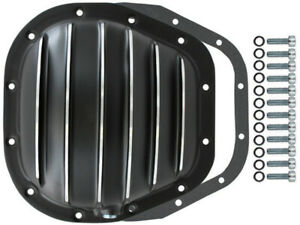 Black Finned Aluminum Ford 12 bolt 10 5 Rg Differential Cover F150 F250 F350