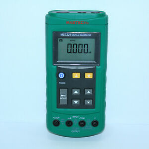 Mastech Ms7221 Voltage Current Calibrator Dc Current Loop Dc Voltage Tester