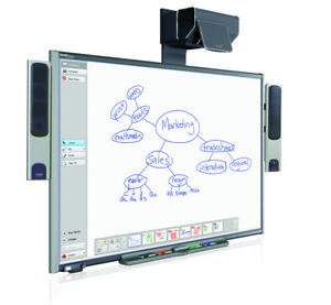 Interactive Smart Board Sb680 Smart Ux60 Projector With Mount And Clickers