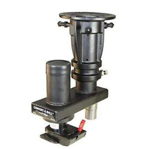 Convert a ball Cushioned 5th wheel to gooseneck Adapter W Offset C5gx1216