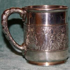 1875 1891 Tiffany Antique Sterling Silver Mug Children S Parade
