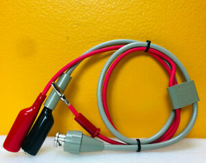 Hp agilent 16117a Bnc m To Alligator Clip Low Noise Test Leads Tested