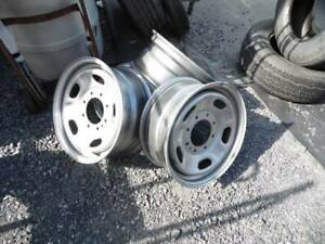 Set Of 4 17 X 7 5 40 Inset 8 Lug Steel Ford Rims Mint Condition