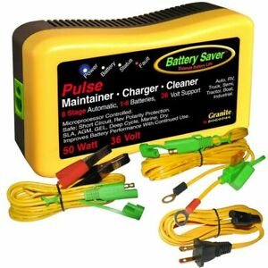 Battery Saver 36v 50w Battery Charger Maintainer Cleaner 2365 36