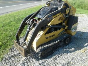 2008 Vermeer S600tx Stand On Mini Skid Steer Track Loader Kubota Dsl Runs Great