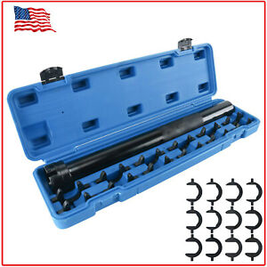 Inner Tie Rod End Remover And Install Tool With 12pcs Open Jaw Drivers Us Ship