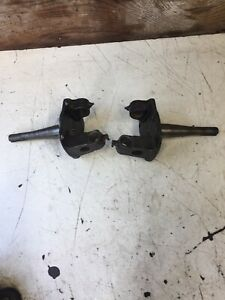 1928 1929 1930 1931 Model A Ford Front Spindle Pair Recently Removed