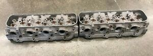 1969 70 Chevy Chevrolet Pair Cylinder Heads Aluminum 427 396 454 Gm 3946074