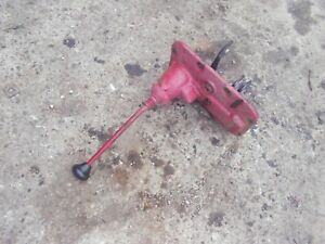 Farmall B Tractor Ih Transmission Housing Gear Shifter Tower Forks Cast Knob