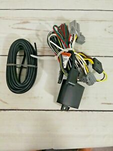 Trailer Wiring Harness Kit For 12 18 Ford Focus Sedan Plug Play T one Direct
