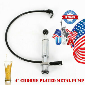 Short Stroke Pump Beer Keg Tap Pump Heavy Duty D System 4 Homebrew 4 Inch
